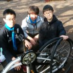 自転車修理隊集会